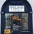 The front door at Vintage Salvage & Supply!