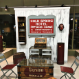 Cold Spring Hotel Sign & Taystee Bread Coffee Table