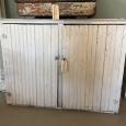 White Beadboard Cabinet